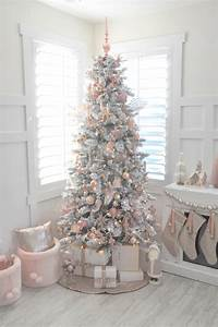 Kara's Party Ideas » Blush Pink Vintage-Inspired Tree