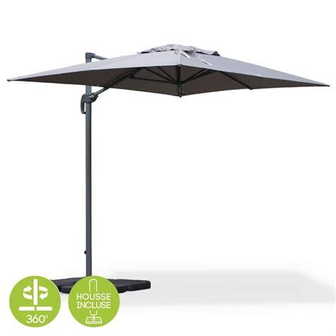 parasol deporte rectangulaire inclinable parasol inclinable et rotatif topiwall