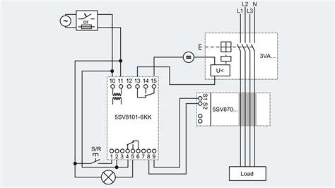 siemens shunt trip breaker wiring diagram free wiring diagram