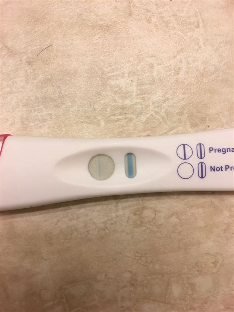 Faint Positive Then Negative Pregnancy Test Trying To