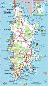 Phuket Island Tourist Map - Phuket Island Thailand • mappery