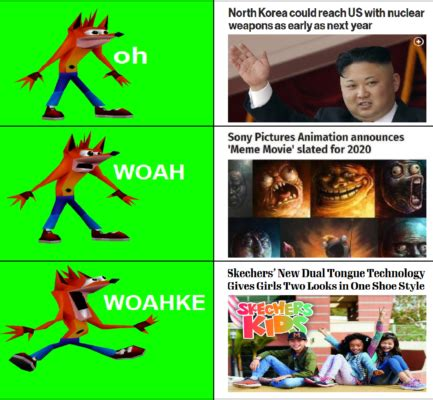 Woah Meme Crash Bandicoot Woah Memes Are Taking The