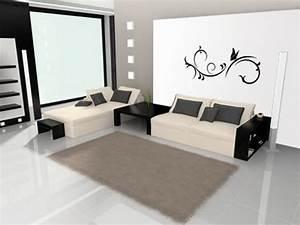 Wandfarben Wohnzimmer Beispiele : wohnzimmer wandfarben ideen ~ Markanthonyermac.com Haus und Dekorationen