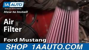 How To Replace Air Filter 94-04 Ford Mustang 3 8l V6