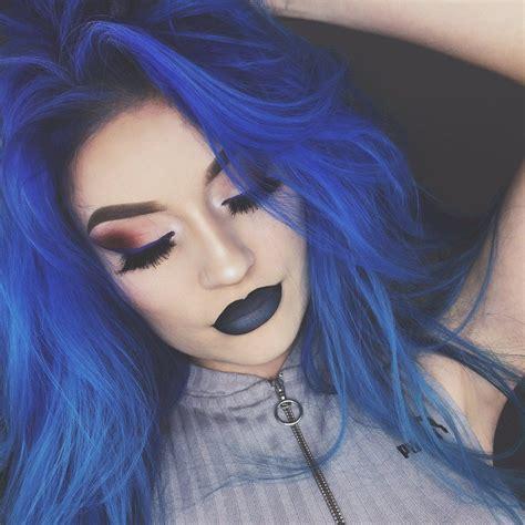 Image Result For Naomi Jon Blue Hair Hair Inspiration