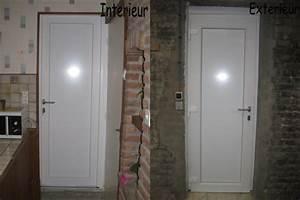 pose d39une porte de service blog de manteldenis With poser une porte de service