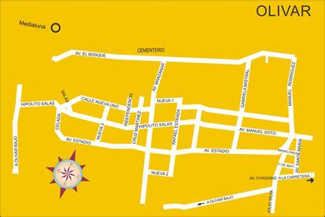 mapas comunales de la vi region rancagua san fernando