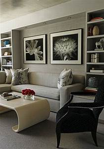 Gray interior design ideas for your home for Gray interior decorating