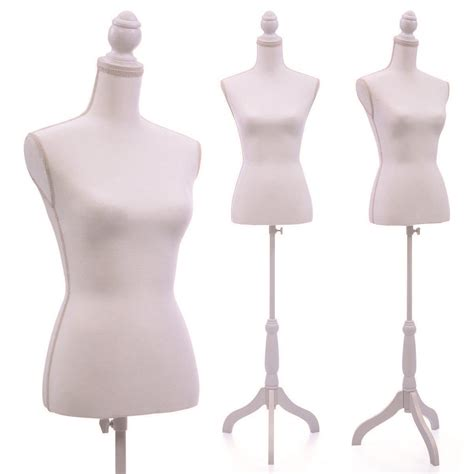 female form mannequin female mannequin torso dress form display w white tripod