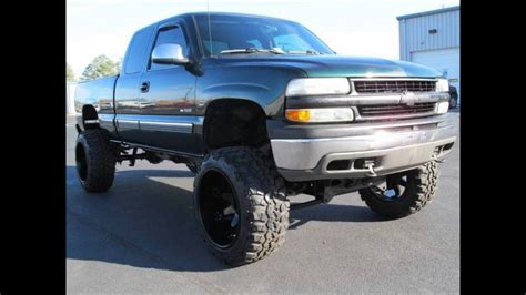 chevy silverado  ls   lifted truck youtube