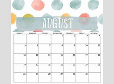 2018 Monthly Printable Templates Calendar 2018