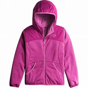The North Face Girls Size Chart The North Face Haldee Reversible Fleece Hooded Jacket