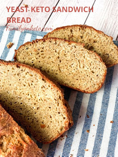 Flaxseed meal, eggs, honey, baking powder, active dry yeast, applesauce and 4 more. Yeast keto sandwich bread | Recipe in 2020 | Low carb ...