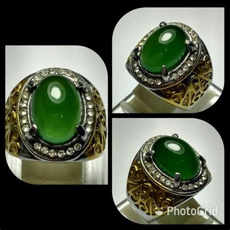 Batu Akik Giok Serpentine jual cincin batu green serpentine aceh aka giok