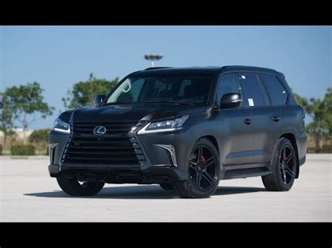 Lexus Lx 570 2019  Detailed Redesign Look Youtube