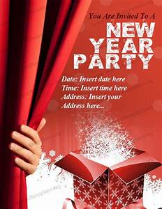 New year party invitation template free invitation for New year invite templates free