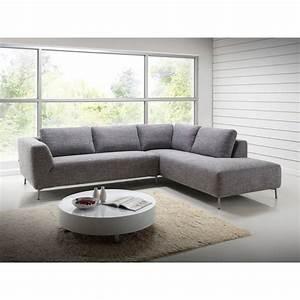 Canape d39angle cote droit design 5 places avec meridienne for Tapis de couloir avec canapé 3 places 2 fauteuils