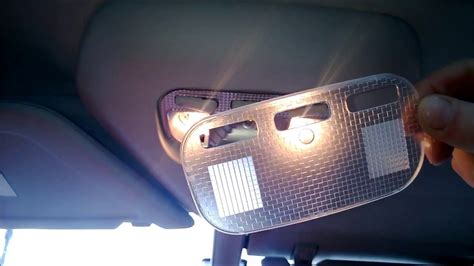 how to change replacement interior bulbs on led citroen