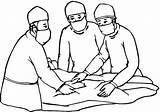 Doctor Kleurplaat Ziekenhuis Colorear Kleurplaten Dibujos Coloring Quirofanos Opa sketch template