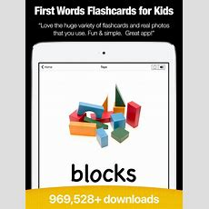 App Shopper My First Words  Flashcards & Games (education