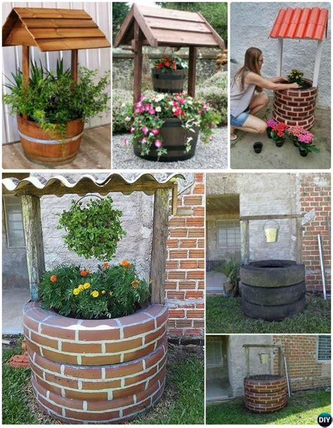 Brunnen Aus Autoreifen by Diy Recycled Tire Planter Ideas For Your Garden Planters