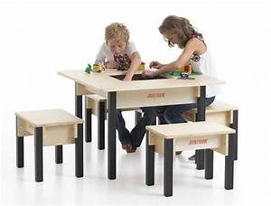 Table Enfant Avec Rangement : table enfant avec rangement carr e ~ Melissatoandfro.com Idées de Décoration