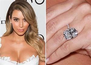 best celebrity engagement rings downtown magazine With kim kardashian wedding ring kanye