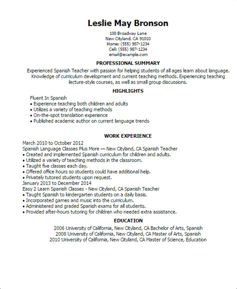 What To Say In Profile Of Resume by Professional Templates To Showcase Your