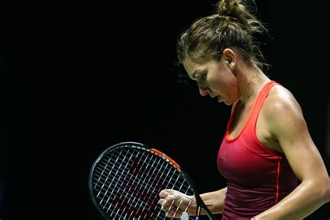 Simona Halep WTA Tennis Player