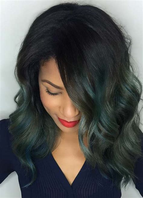 Hair Colors For With Green by 100 Hair Colors Black Brown