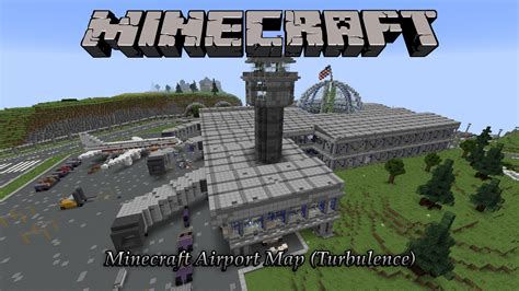 minecraft incredible airport map hunger games map