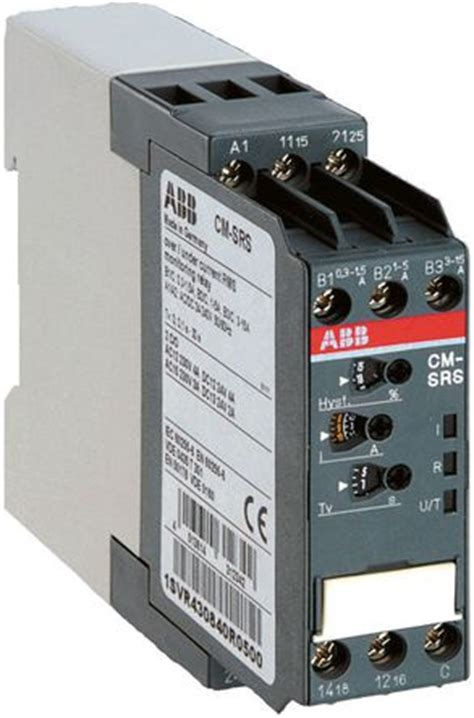Svrr Srs Current Monitoring Relay