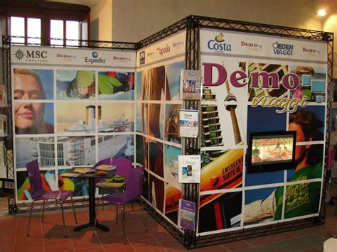traliccio americano crosswire x10 demo exhibition exhibiotionstand design
