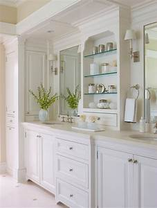 Small master bathroom ideas powder room traditional with for Classic vanities bathrooms