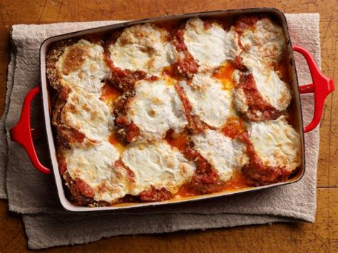 eggplant parmesan recipe food network kitchen food network