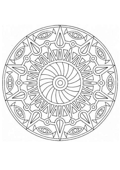detailed coloring pages    print