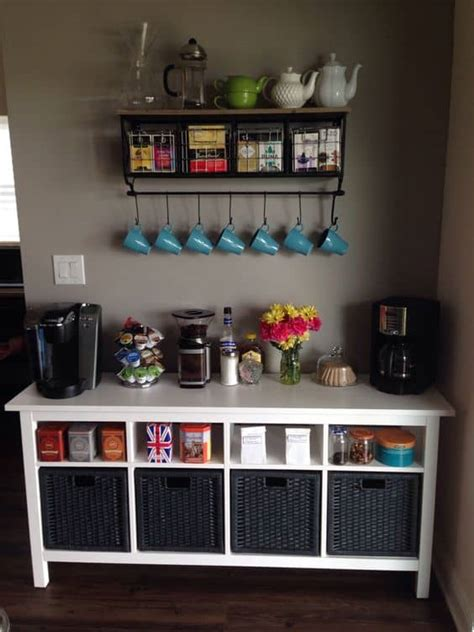 Home Bar Station by 49 Exceptional Diy Coffee Bar Ideas For Your Cozy Home