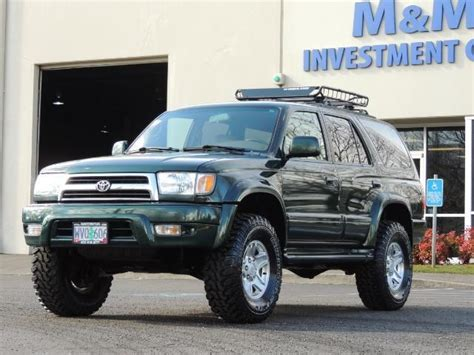 1999 toyota 4runner limited 4dr 3 4l 6cyl 4wd rr diff locks lifted 33 quot