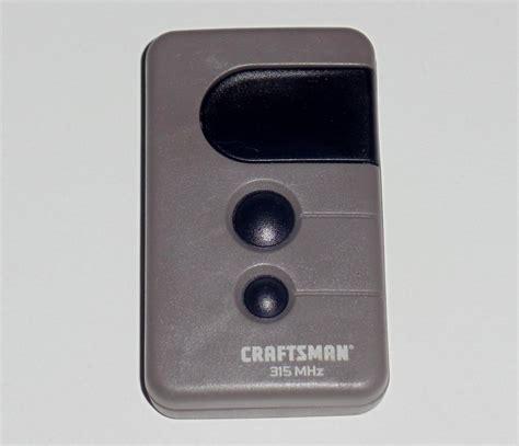 program craftsman garage remote craftsman garage door opener remotes neiltortorella
