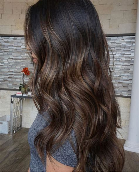Darker Brown Hair by Different Shades Same Subtle Highlights Hair And