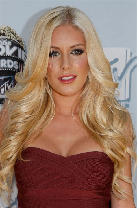 Heidi Montag Weight Height Age