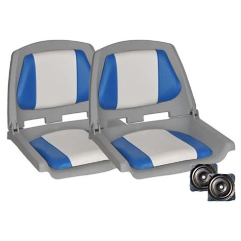 Boat Upholstery Darwin by 2x Traveller Swivel Folding Marine Boat Seats Blue Buy