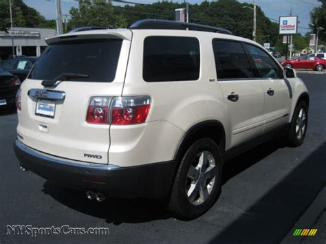 gmc acadia slt awd  summit white photo