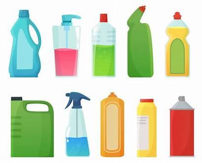 Cleaning Cartoon Detergent Bleach Bottles Plastic Supplies