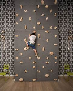 22 awesome rock climbing wall ideas for your home your With awesome photo wall ideas for your house