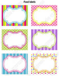 Label Templates 30 Per Sheet Candyland Border Viewing Gallery