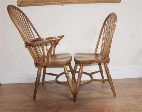 8 oak kitchen dining chairs farmhouse chair