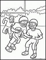 Coloring Football Texans Houston American Game Clipart Ausmalbilder Template Helmet Popular Kin Library Ravens sketch template
