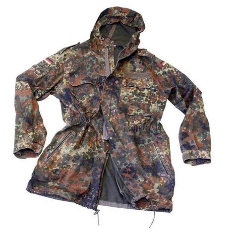 bundeswehr kostüm damen bundeswehr parka flecktarn army freizeit outdoor