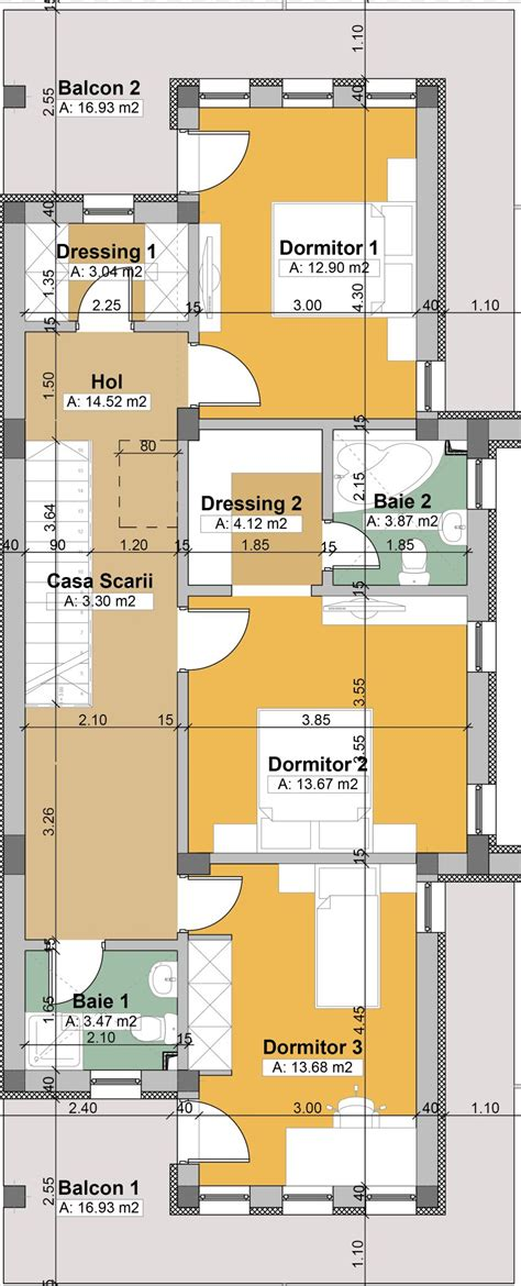two house plans with master on floor